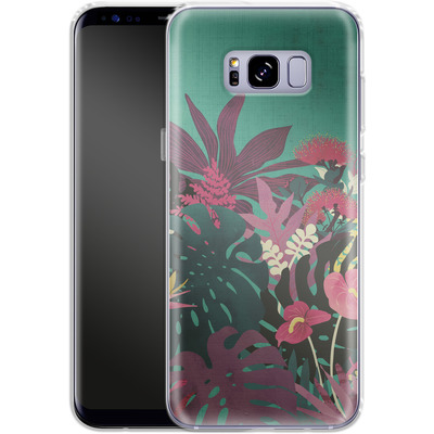 Samsung Galaxy S8 Plus Silikon Handyhuelle - Tropical Tendencies von Little Clyde