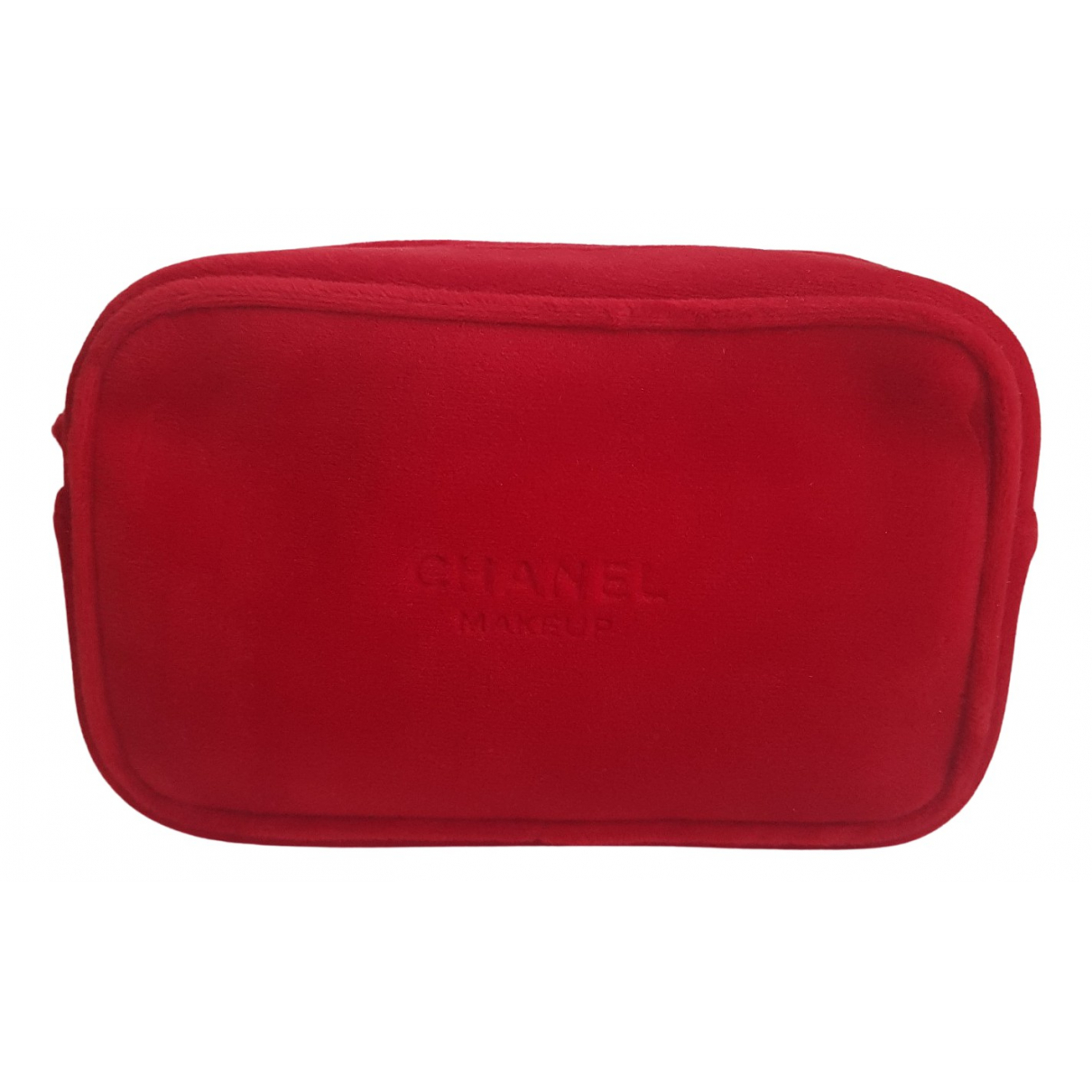Chanel \N Red Velvet Travel bag for Women \N