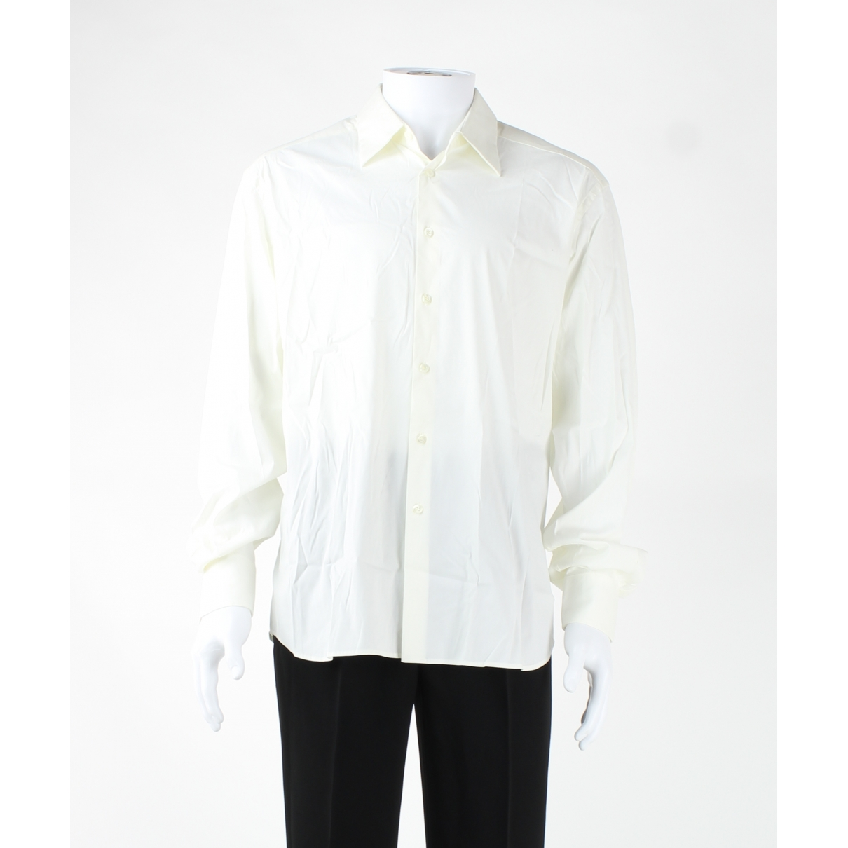 Prada \N White Cotton Jeans for Men 40 - 42 FR