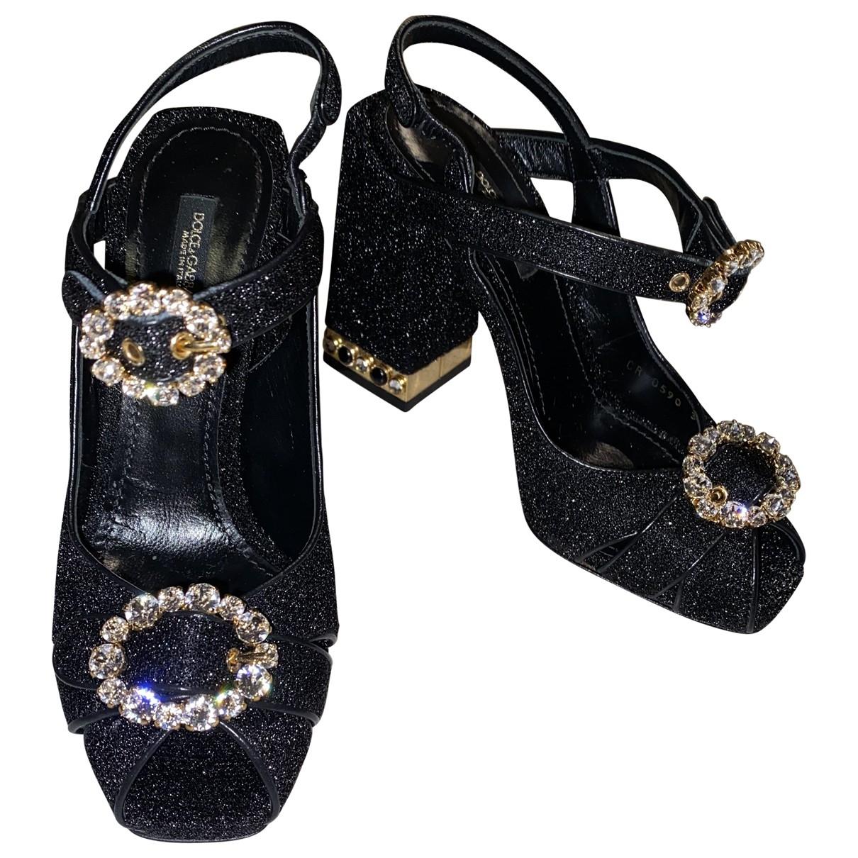 Sandalias de Con lentejuelas Dolce & Gabbana