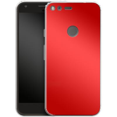 Google Pixel XL Silikon Handyhuelle - Test Red von caseable Designs