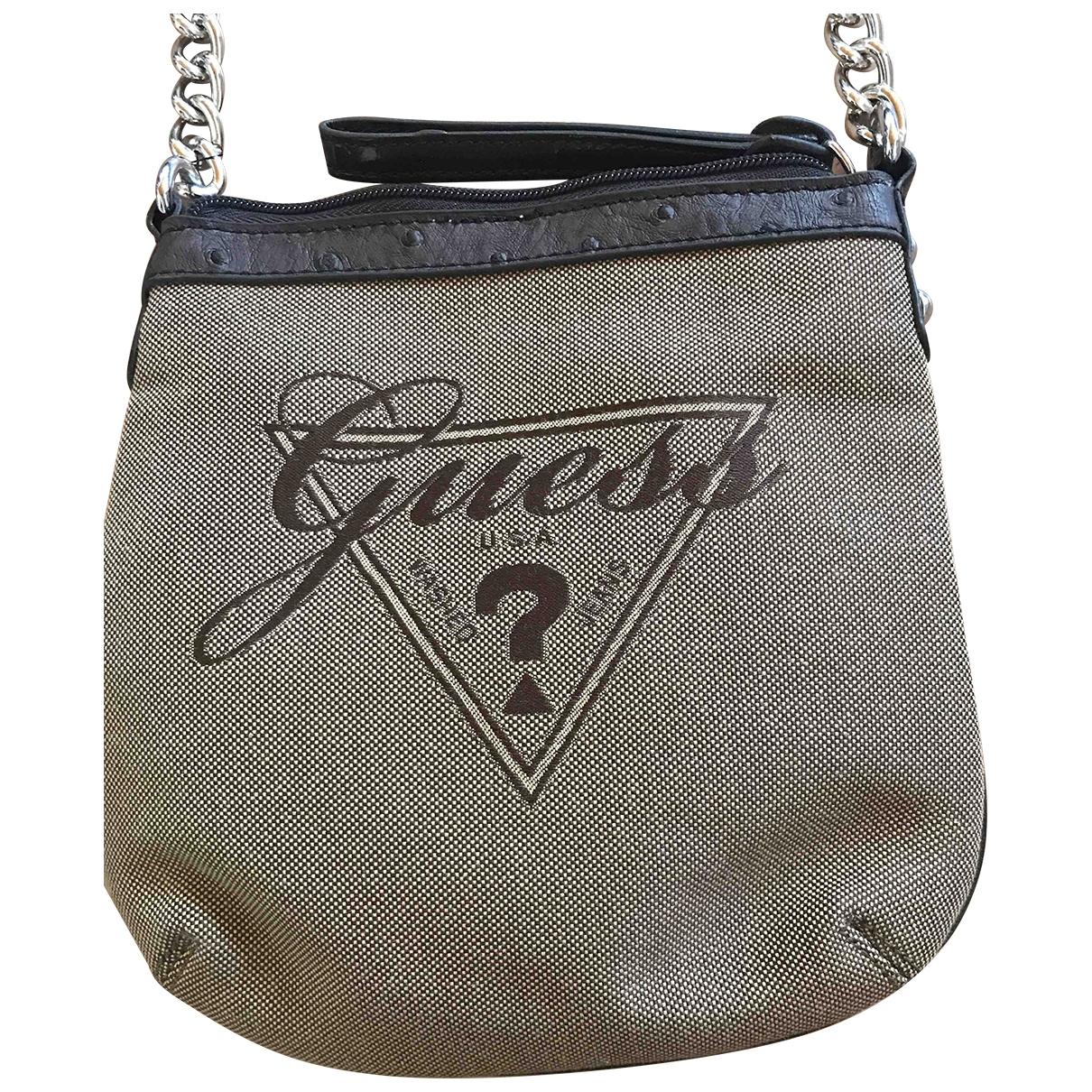 Guess \N Beige Cotton handbag for Women \N