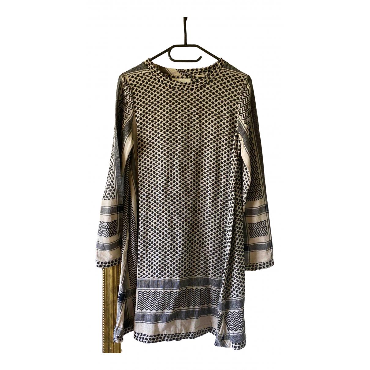 Cecilie Copenhagen \N Kleid in  Schwarz Baumwolle
