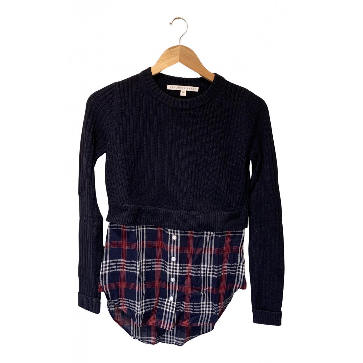 Veronica Beard N Navy Cotton Knitwear for Women XS International