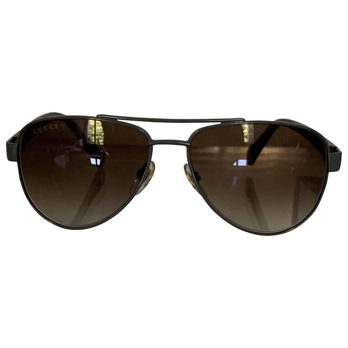 Gucci \N Khaki Metal Sunglasses for Kids \N