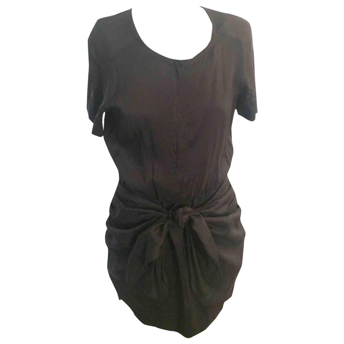 Isabel Marant \N Black Silk dress for Women 36 FR