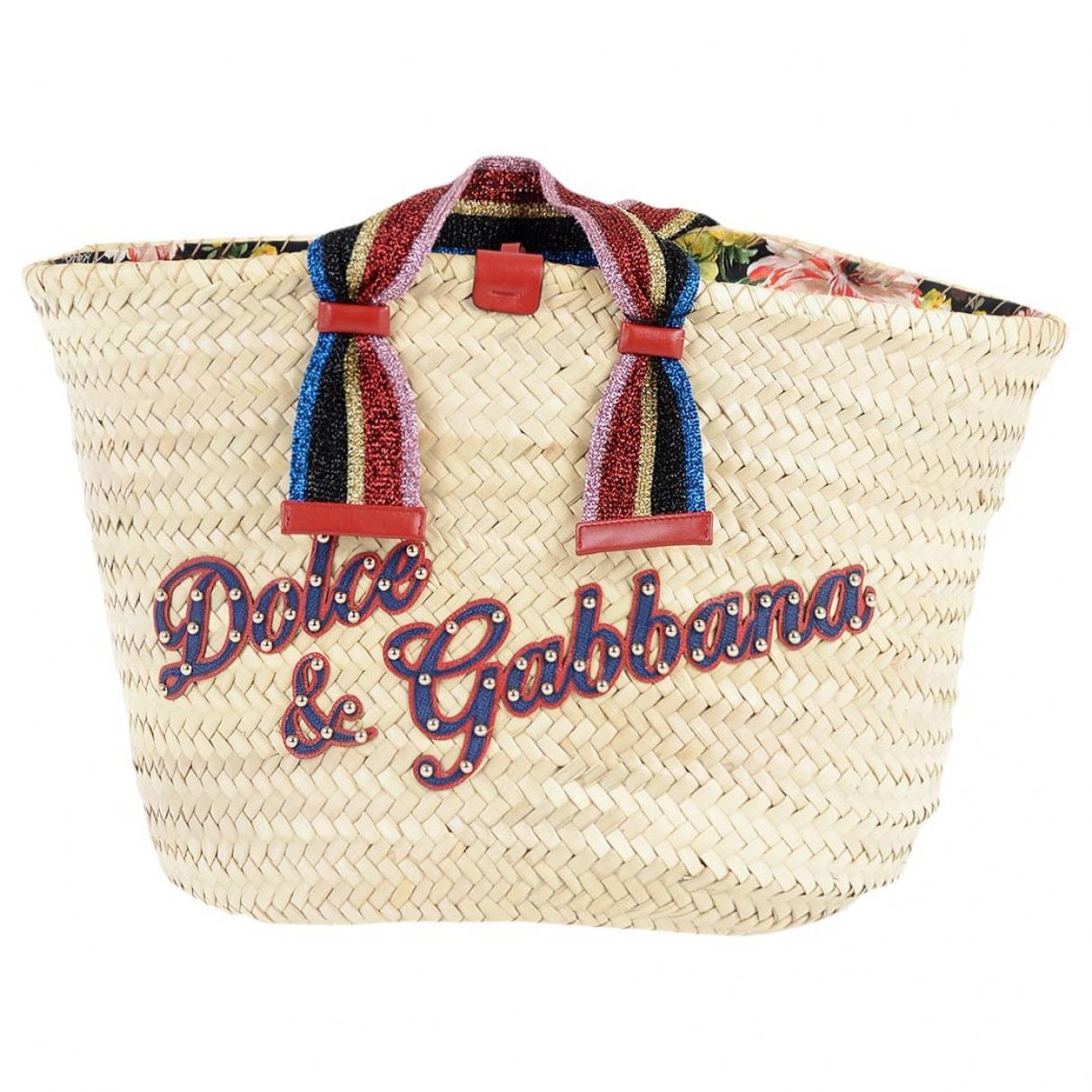 Dolce & Gabbana \N Multicolour Wicker handbag for Women \N