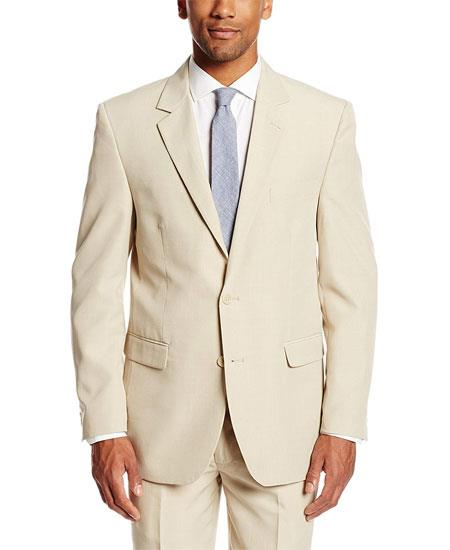 Mens Tan Vest Suit Separates Sale