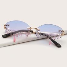 Kinder rahmenlose Sonnenbrille