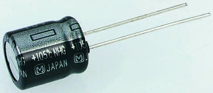 Panasonic 470μF Electrolytic Capacitor 6.3V dc, Through Hole - ECA0JHG471 (25)