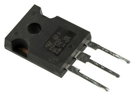 STMicroelectronics TIP2955 PNP Transistor, 15 A, 60 V, 3-Pin TO-247 (5)