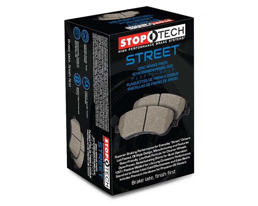 StopTech 308.1584 Street Brake Pads with Shims/Hardware Front