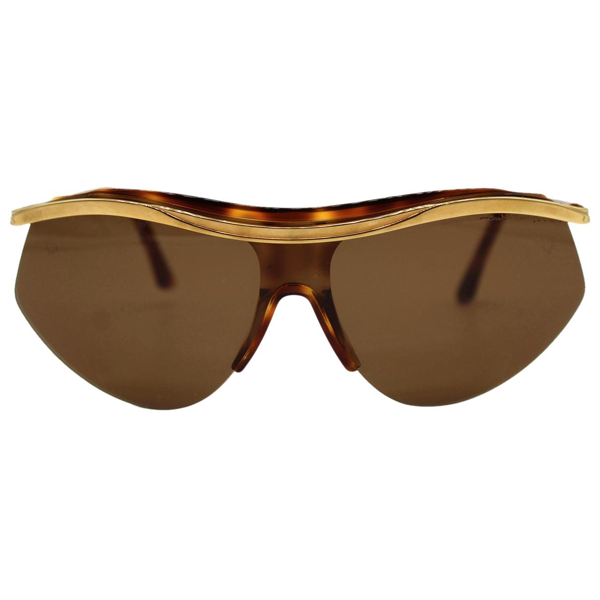 Emanuel Ungaro N Brown Metal Sunglasses for Women N