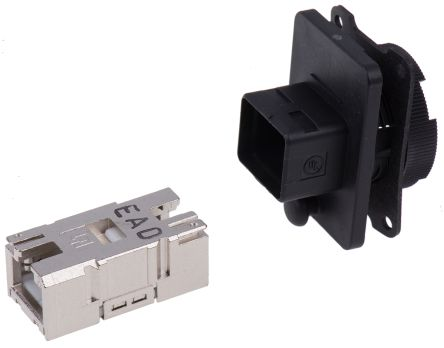 Weidmuller Varient 4 IP67 RJ45 coupler socket