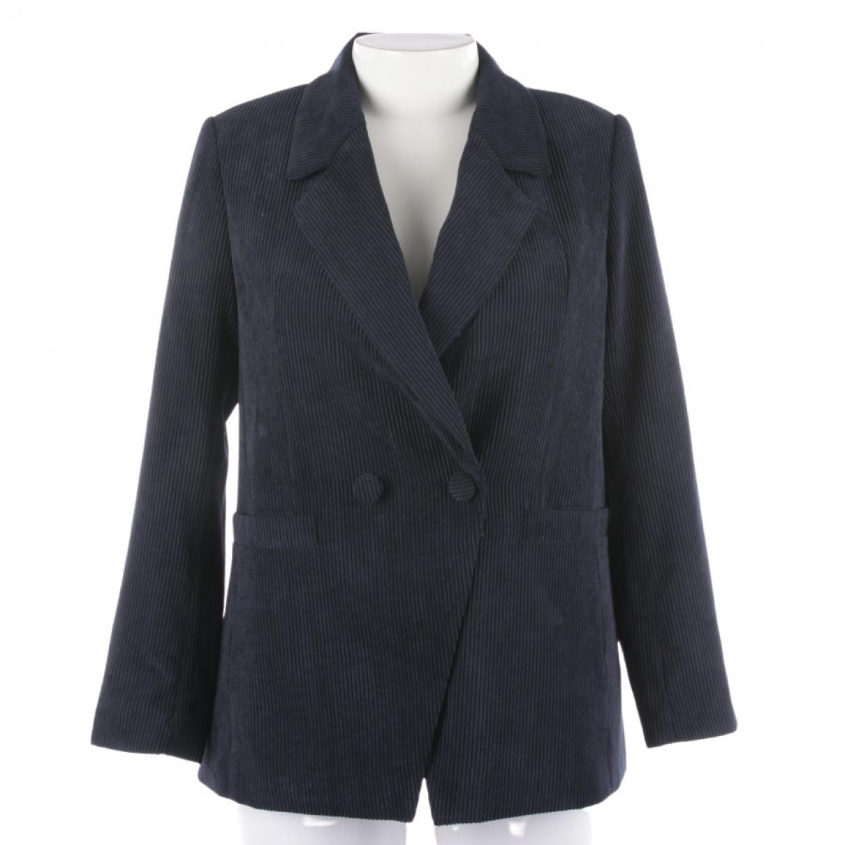 Anine Bing \N Blue jacket for Women XL International