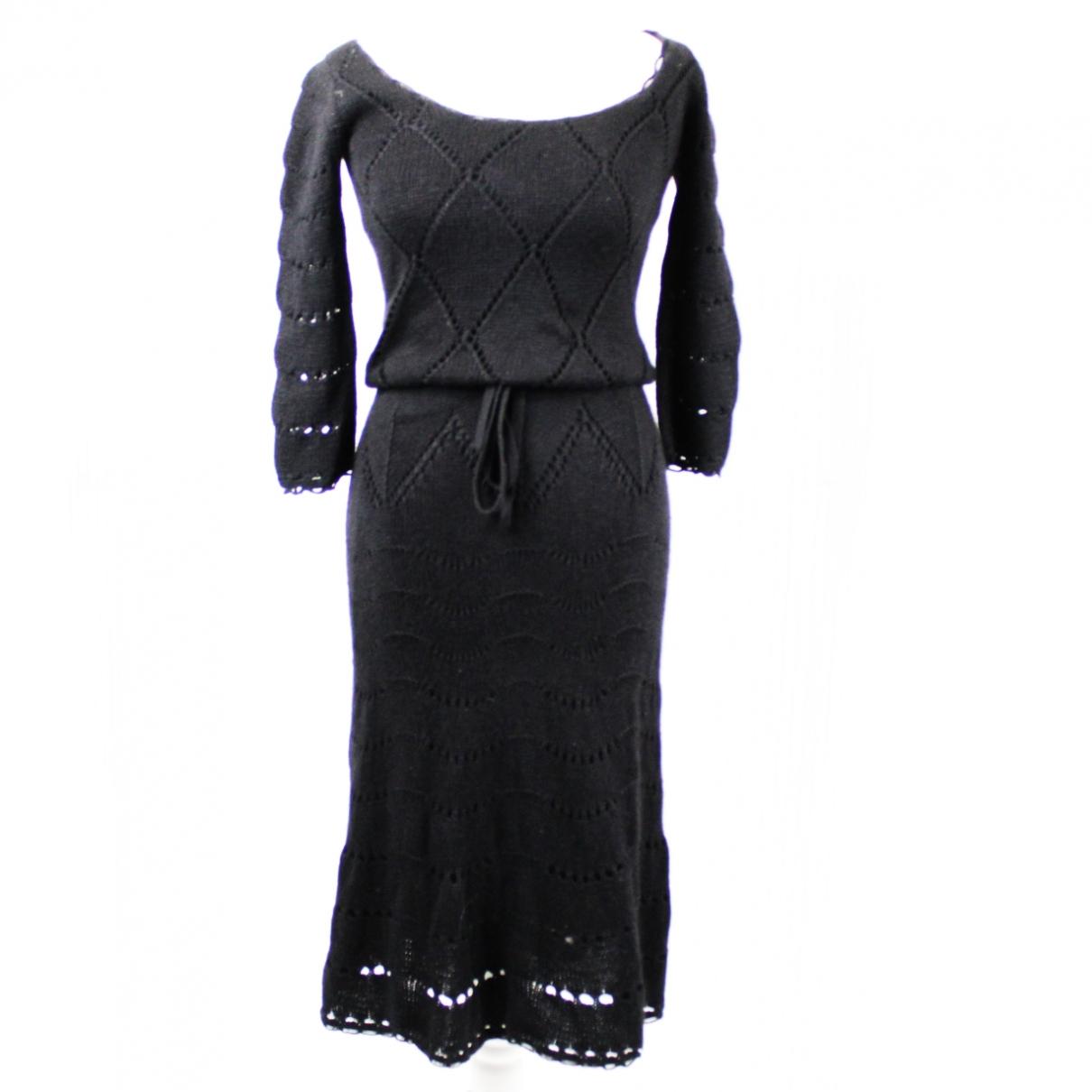 Temperley London \N Black Silk dress for Women 8 UK