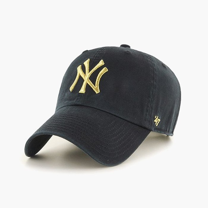 47 MLB New York Yankees Metallic Clean Up B-MTCLU17GWS-BK