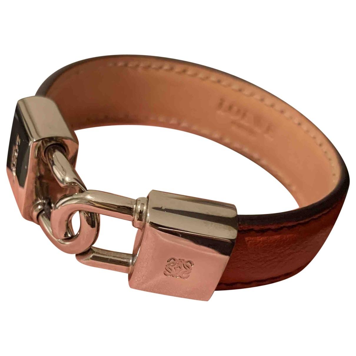 Loewe - Bracelet   pour femme en cuir - orange