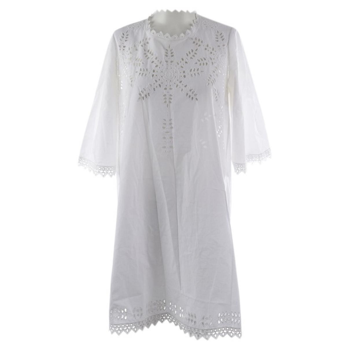 Isabel Marant Etoile N White Cotton dress for Women 36 FR
