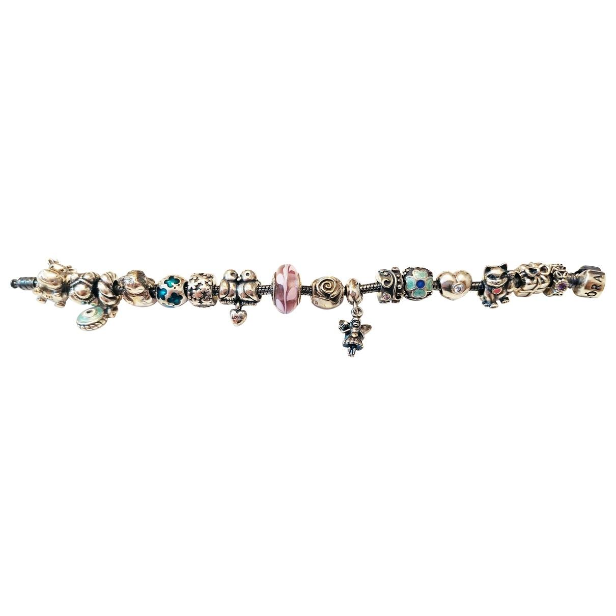 Pandora - Bracelet   pour femme en argent - rose