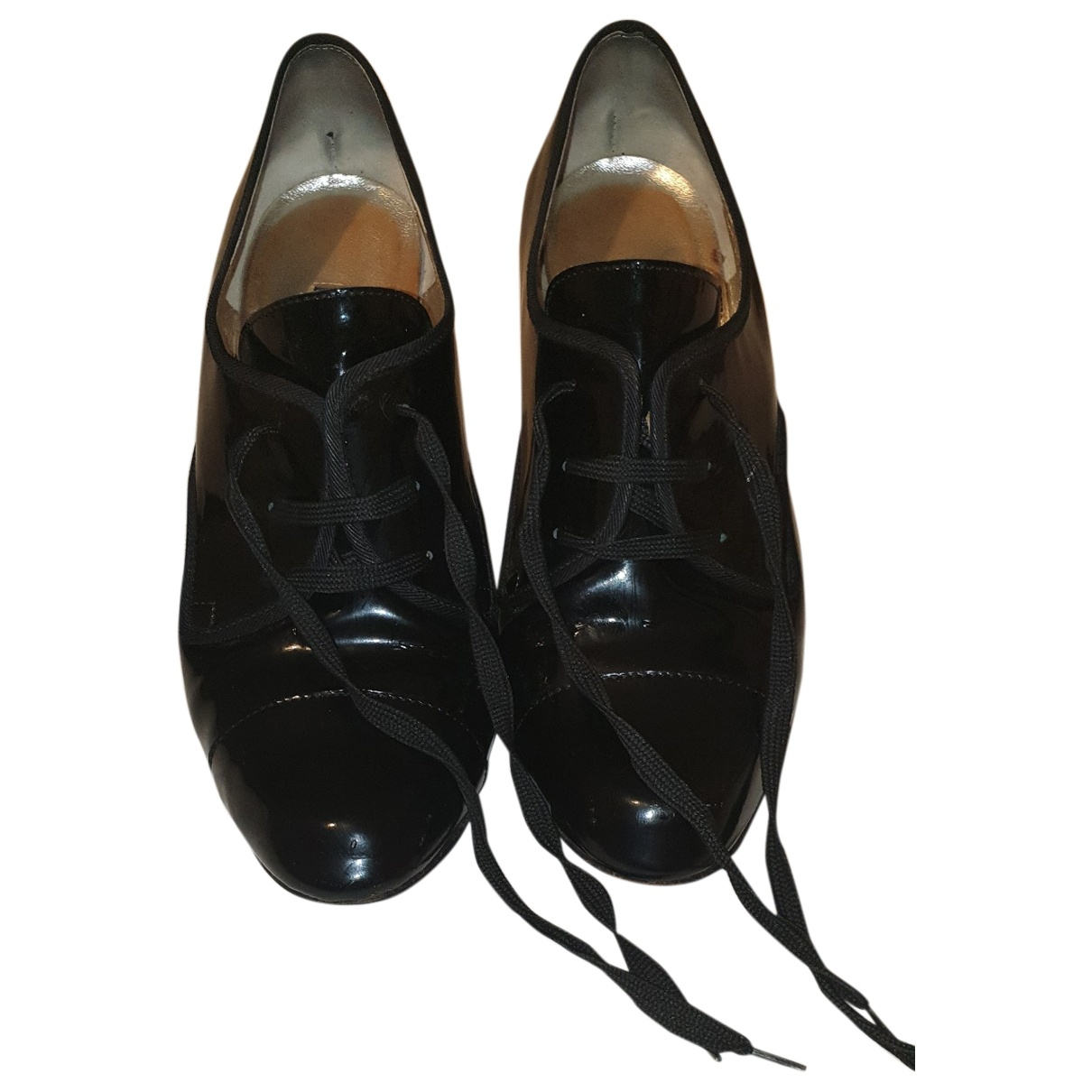Dolce & Gabbana \N Black Patent leather Lace ups for Women 39.5 EU