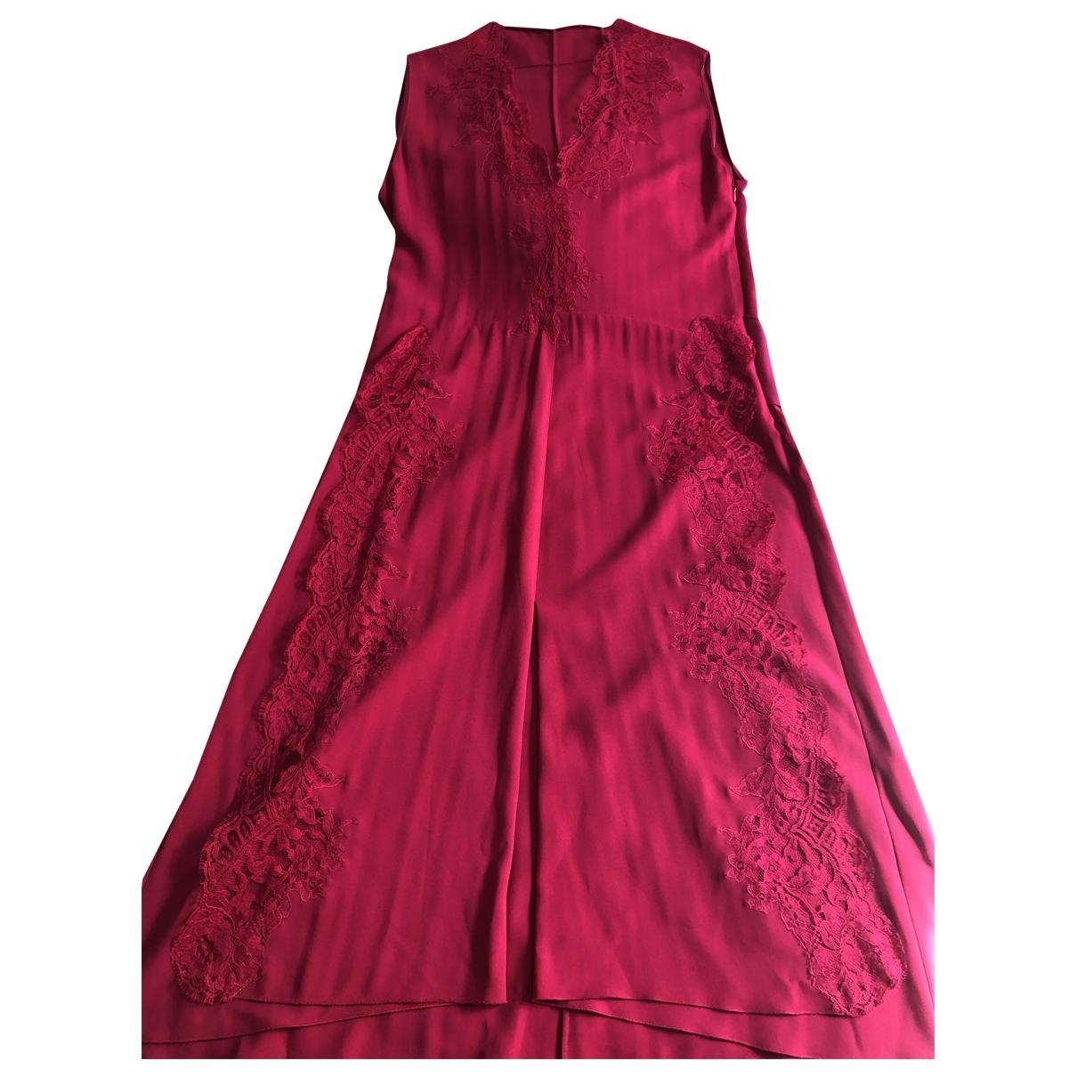 Givenchy - Robe   pour femme en dentelle - rouge