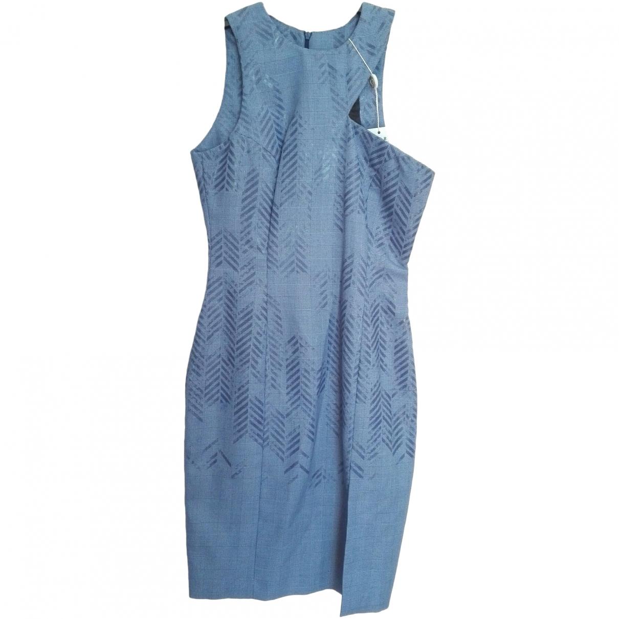 Versace Jeans \N Kleid in  Tuerkis Polyester