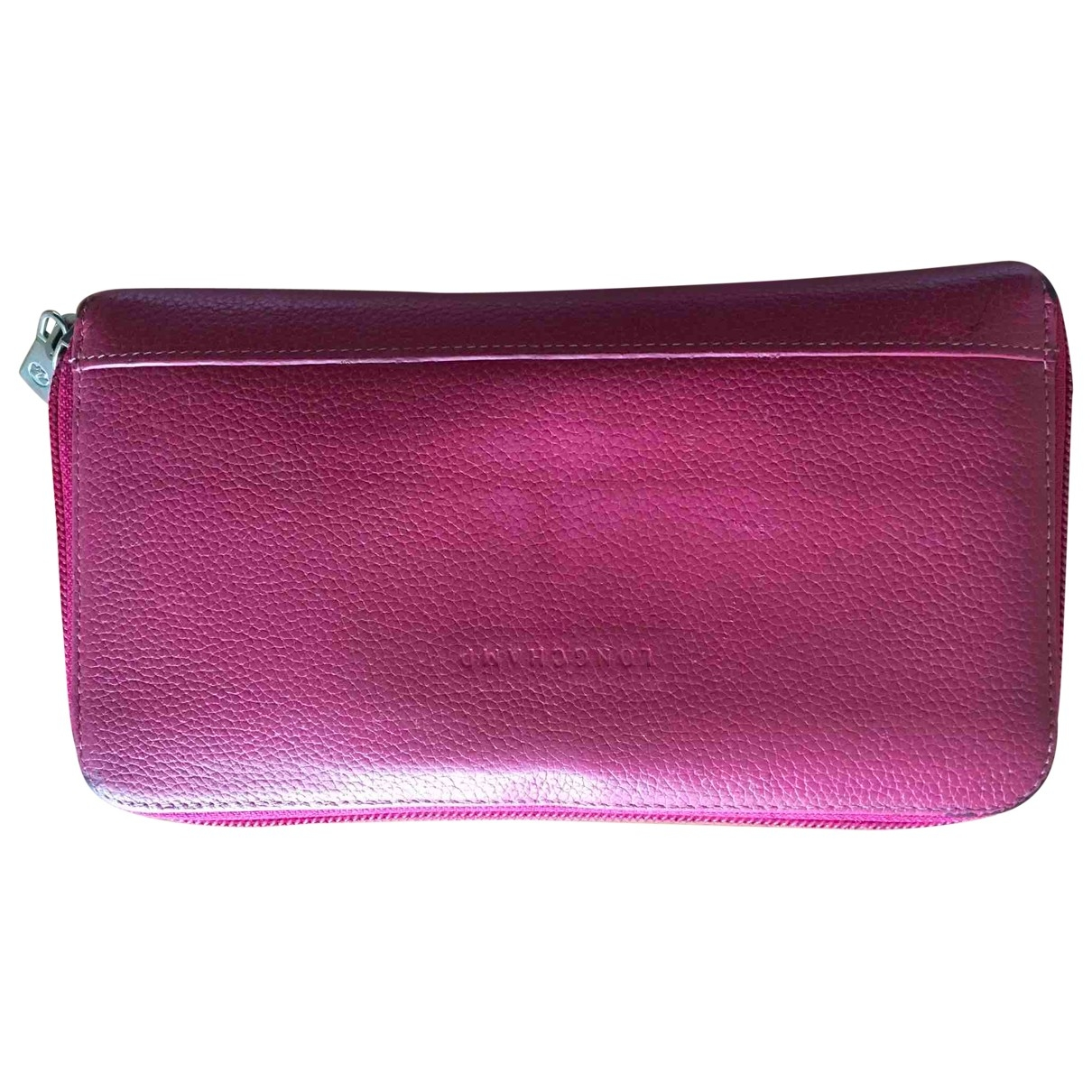 Longchamp \N Pink Leather wallet for Women \N