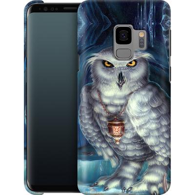Samsung Galaxy S9 Smartphone Huelle - Ed Beard Jr - Wizard Messenger Owl von TATE and CO