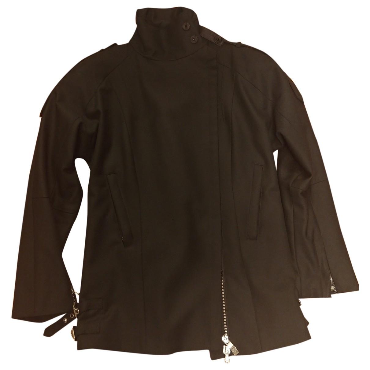 Costume National - Veste   pour femme en laine - noir