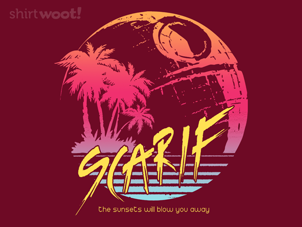 Sunny Scarif T Shirt