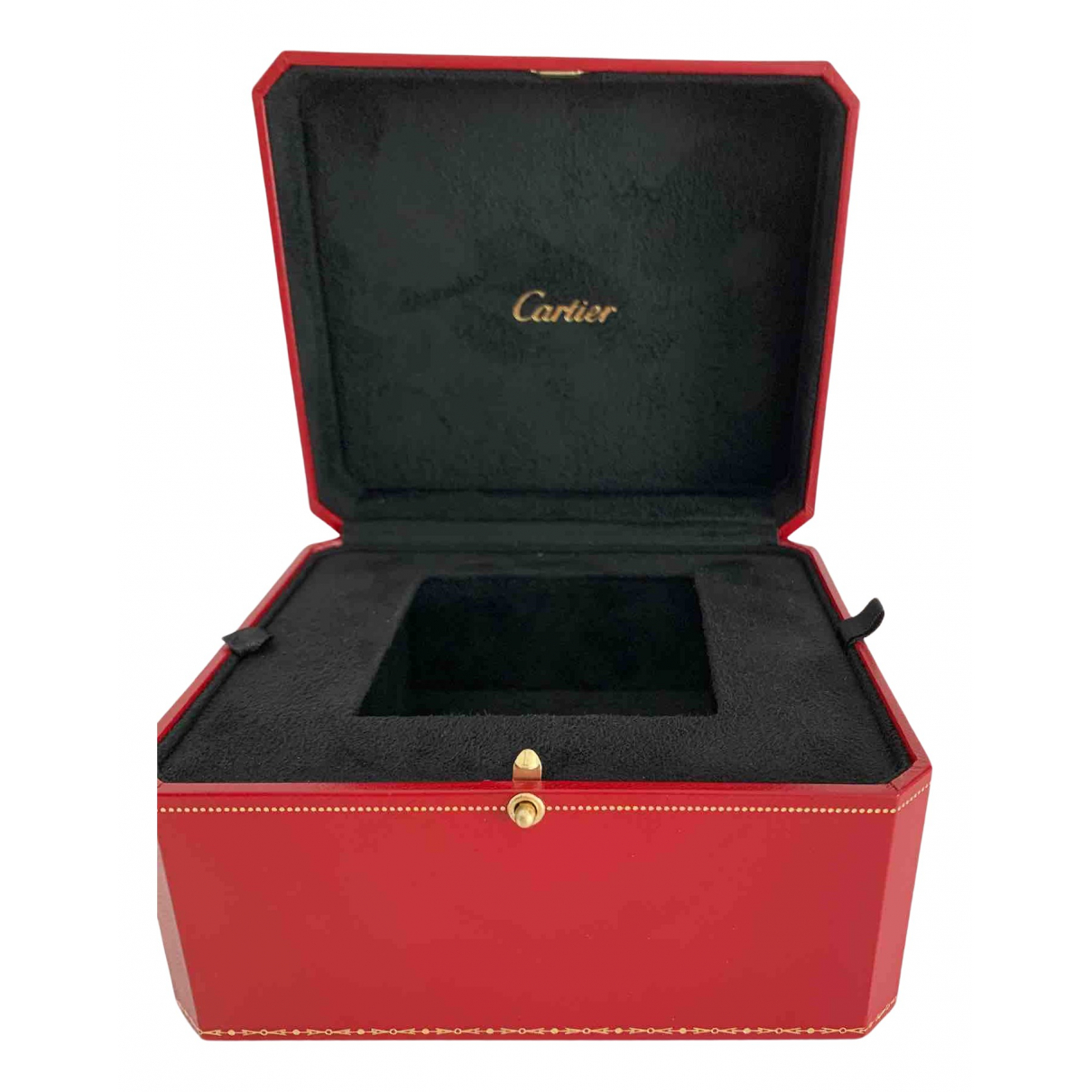 Cartier - Objets & Deco   pour lifestyle en cuir - rouge