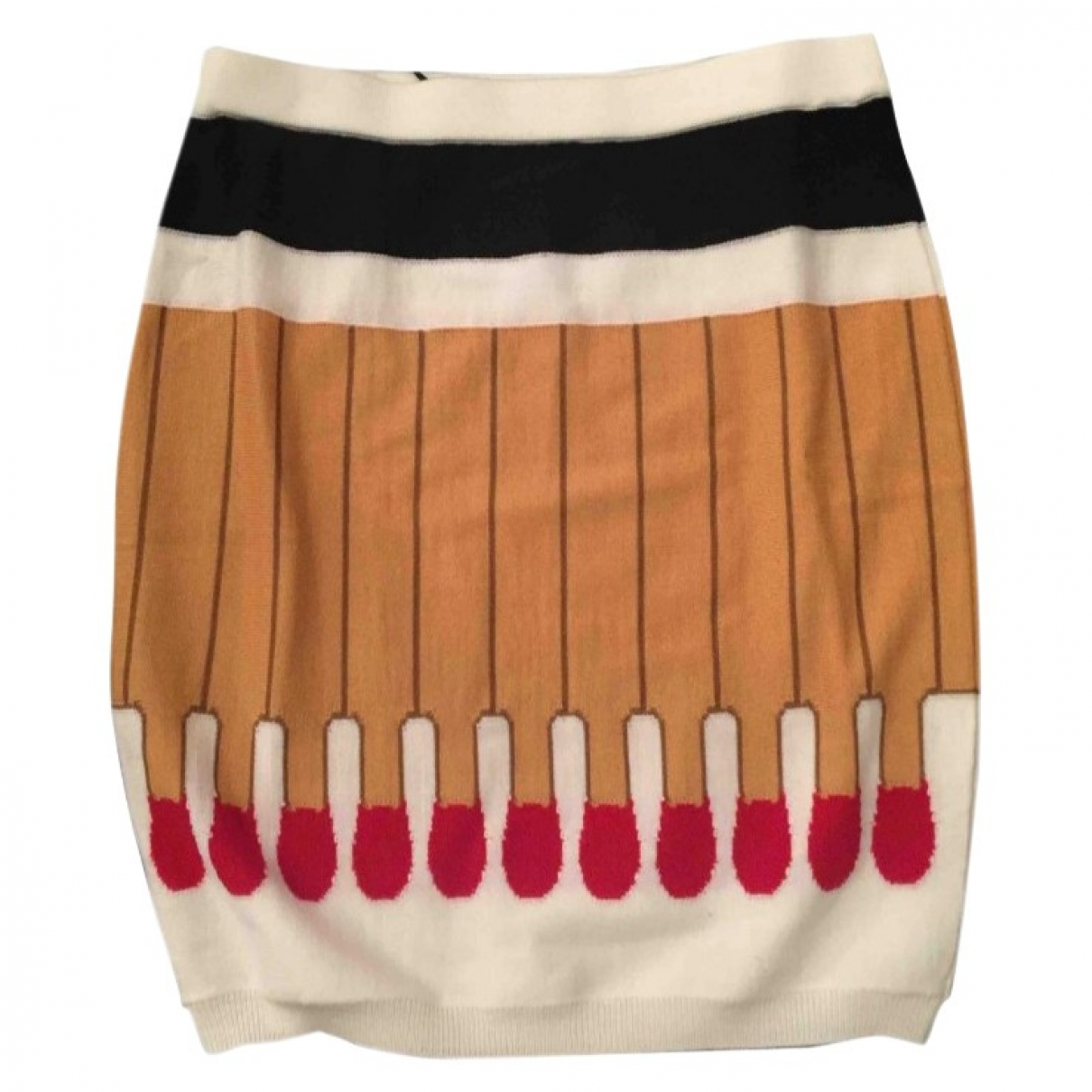 Moschino \N Multicolour Wool skirt for Women 38 IT