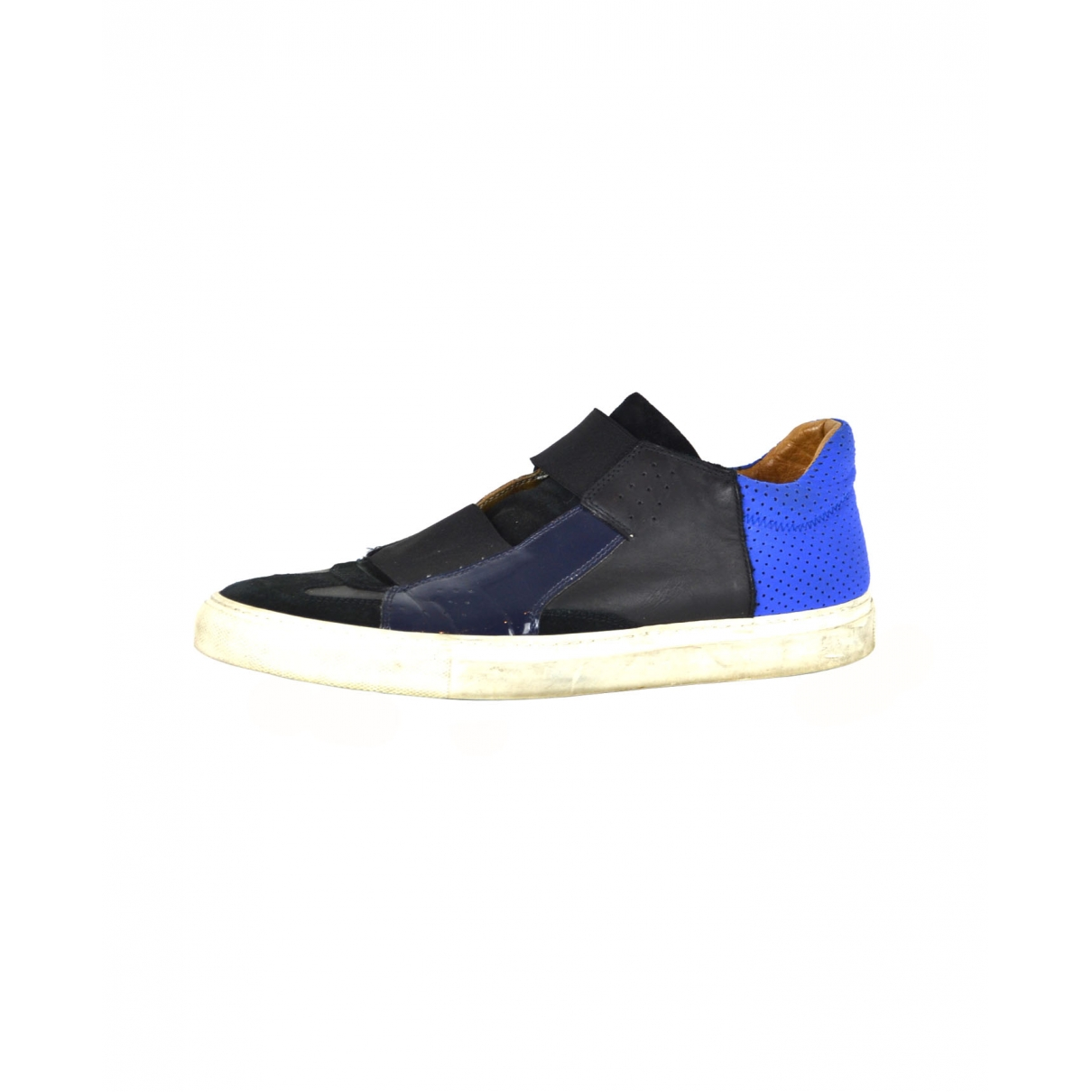 Maison Martin Margiela \N Sneakers in  Blau Leder