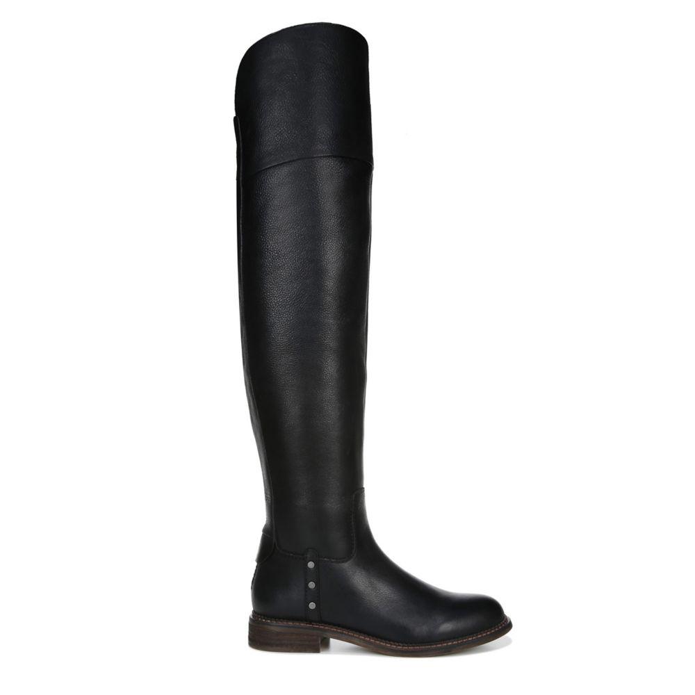 Franco Sarto Womens Haleen Over The Knee Wide Calf Boot