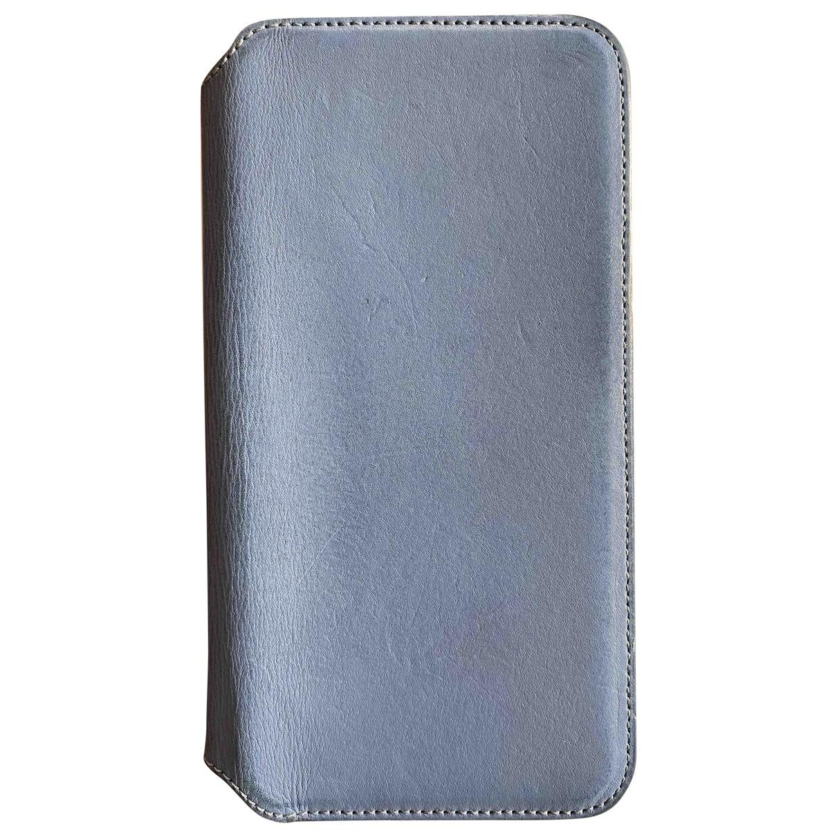 Apple - Accessoires   pour lifestyle en cuir - bleu