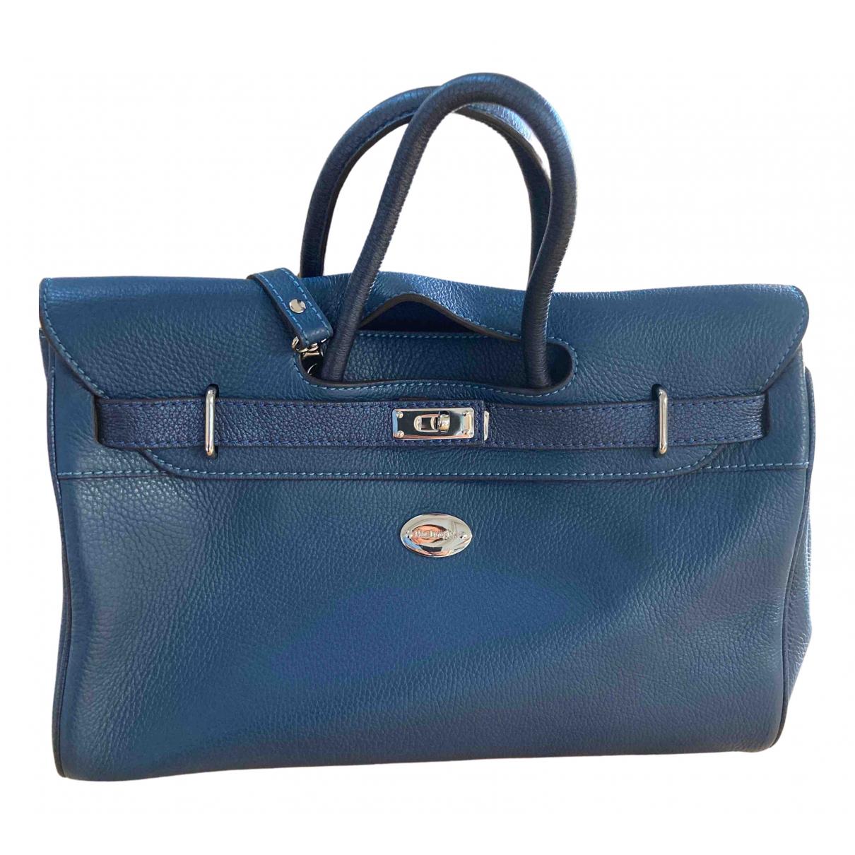 Mac Douglas \N Blue Leather handbag for Women \N