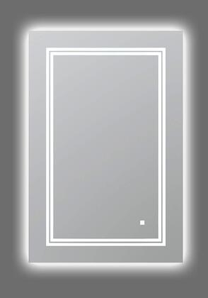 SOHO Collection S-2436 LED Lighted Mirror with Defogger  Dimmer and Light Control Touch Screen Buttons in