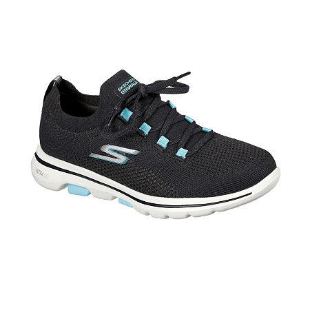 Skechers Go Walk 5 - Uprise Womens Walking Shoes, 7 Medium, Brown