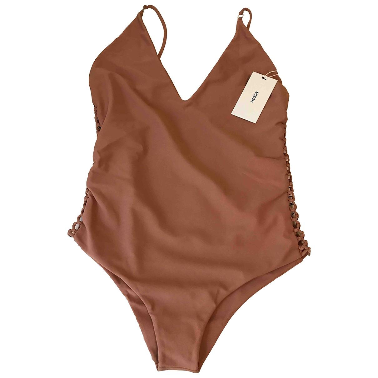 Mikoh \N Beige Sponge Swimwear for Women M International