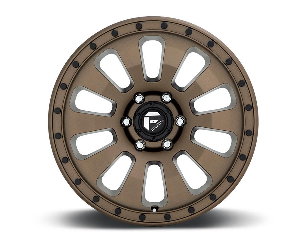 Fuel D678 Tactic Bronze w/ Black Bolts 1-Piece Cast Wheel 18x9 6x139.7 20mm