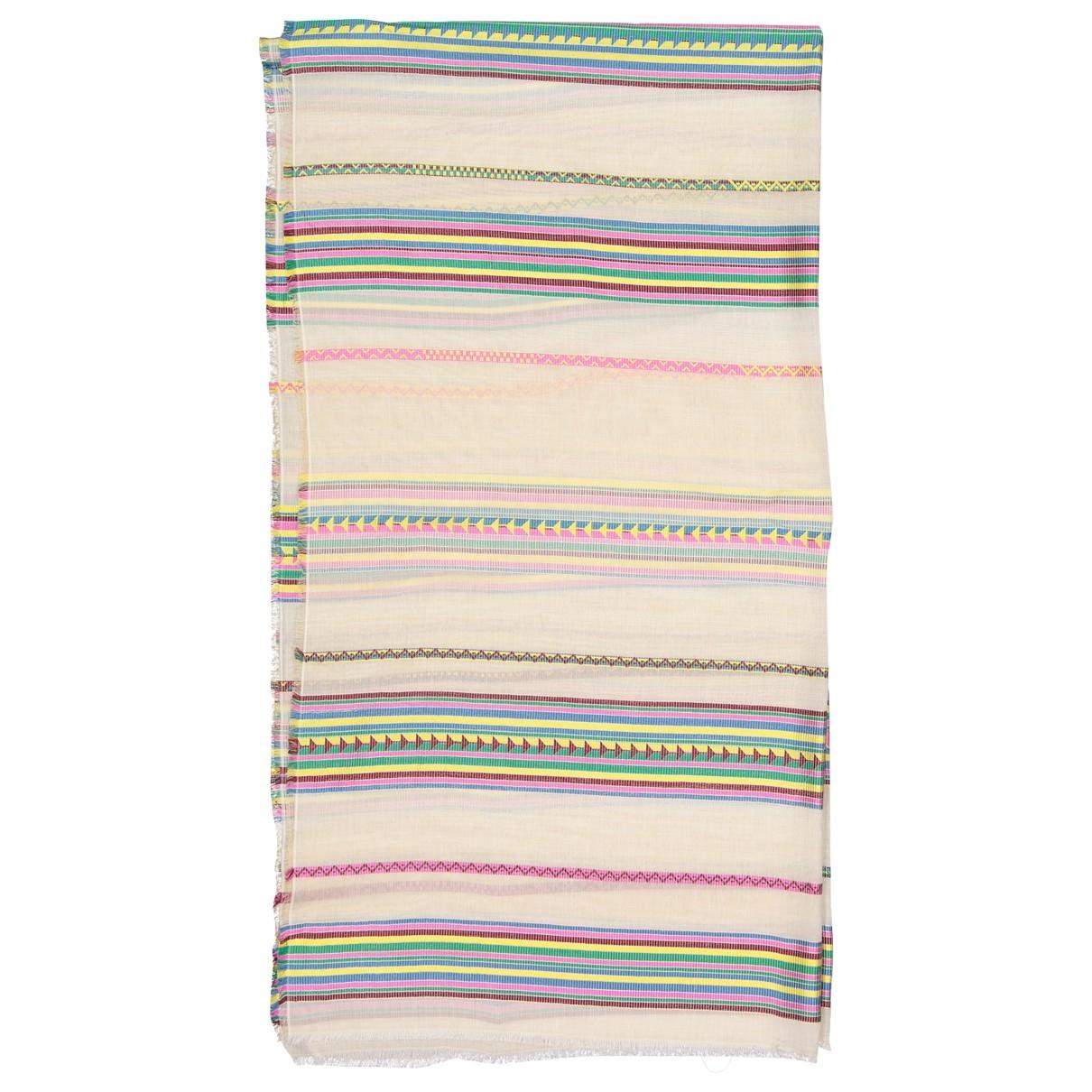 Valentino Garavani - Foulard   pour femme en coton - multicolore
