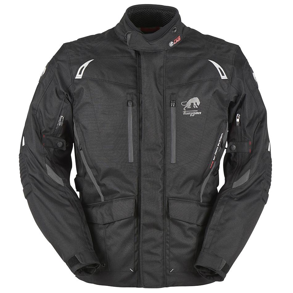 Furygan Apalaches Black Motorcycle Jacket M