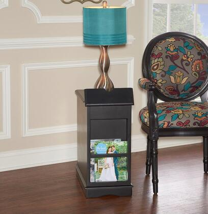 15A2017BA Butler Collection Black Accent Table in