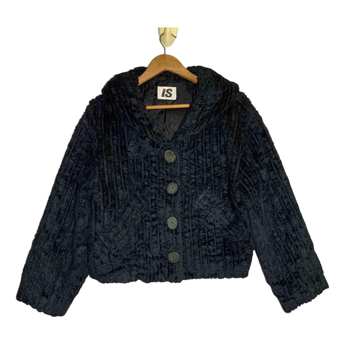 Issey Miyake \N Jacke in  Schwarz Baumwolle
