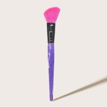 1pc Resin Handle Makeup Brush