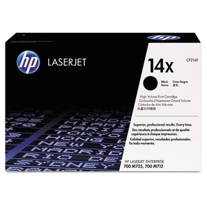 HP 14X CF214X Original Black Toner Cartridge High Yield