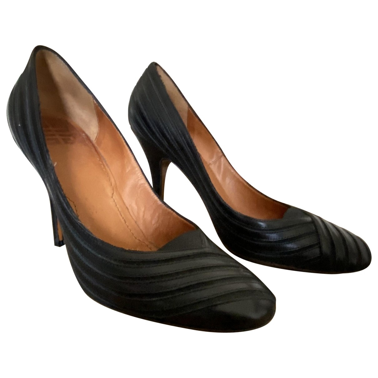 Givenchy \N Black Leather Heels for Women 39 EU