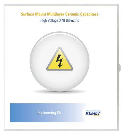 KEMET , Surface Mount Ceramic Capacitor Kit 1000 pieces