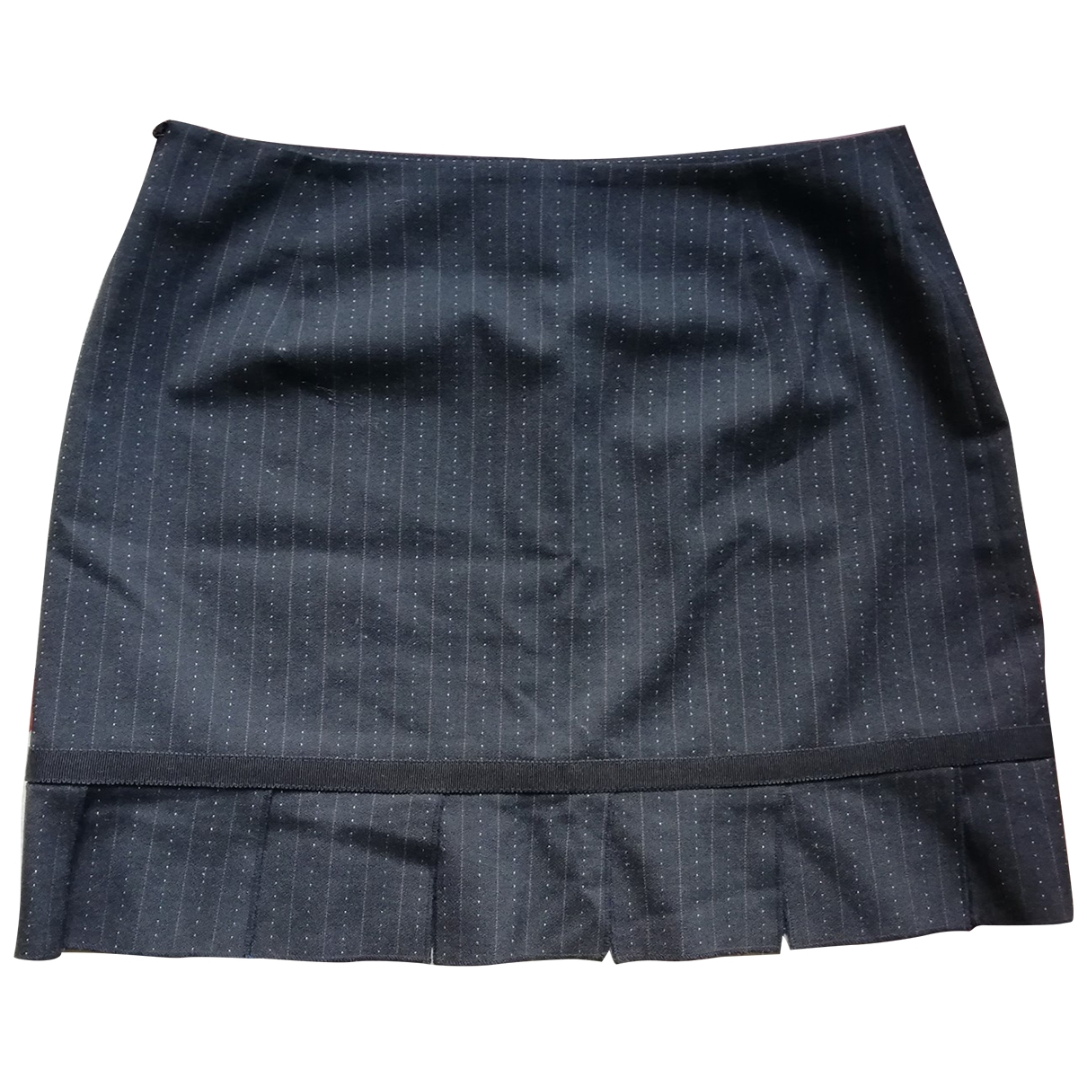 Non Signé / Unsigned \N Anthracite skirt for Women 38 FR